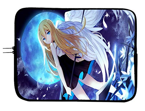 Brand3 Angels of Death Laptop Notebook Case Sleeve Bag 13 13.3' Anime Computer Bag Laptop/Tablet Water Repellent Neoprene Cushioned Case