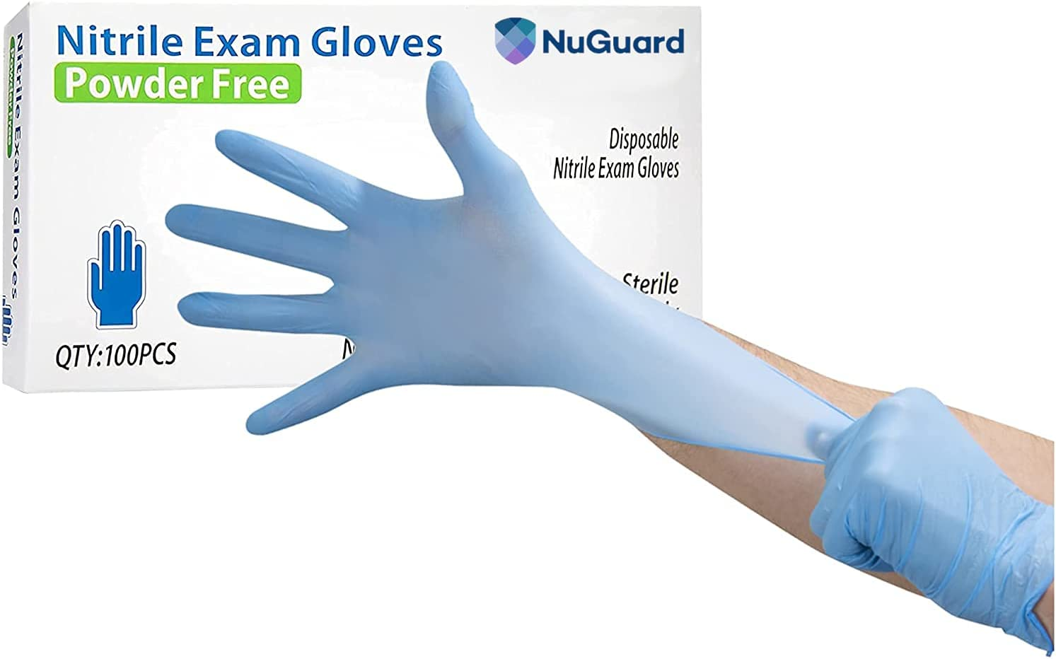 Style Setter Powder-Free Nitrile Industr New popularity Exam Milwaukee Mall Gloves Disposable