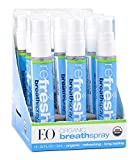 EO Organic Breath Spray: Instantly Refreshing, 0.33 Ounce, 12 Count