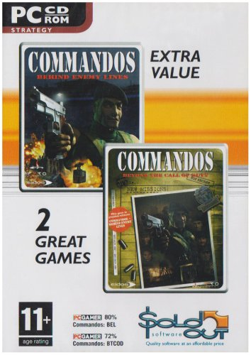 Commandos: Behind Enemy Lines and Beyond The Call of Duty - Double Pack [Importación Inglesa]