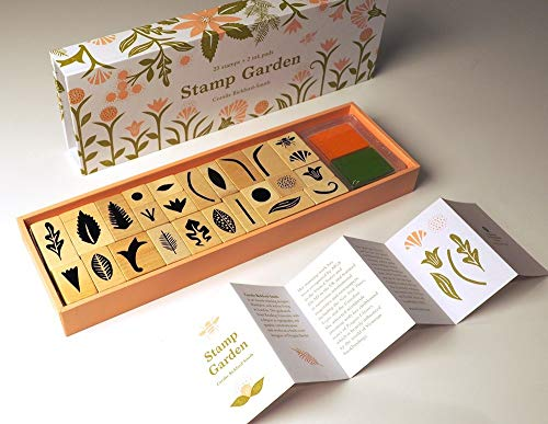 Compare Textbook Prices for Stamp Garden: 25 stamps, 2 ink colors, assorted plant and flower parts, perfect for scrapbooking, printmaking, diy crafts, and journals Toy Edition ISBN 9781616896805 by Bickford-Smith, Coralie