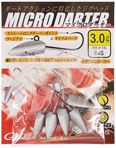 がまかつ(Gamakatsu) マイクロダーター #4-3g