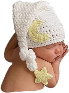 Fashion Newborn Boy Girl Baby Costume Knitted Photography Props Cute Hat Headdress