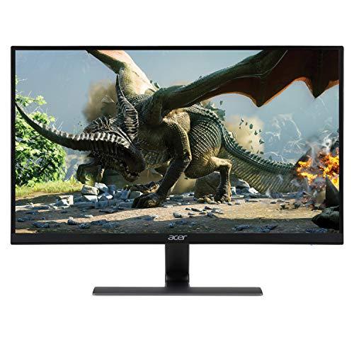 "Acer Nitro RG270 bmipx 27"" Full HD (1920 x 1080) IPS Ultra-Thin Zero Frame Gaming Monitor with AMD Radeon FREESYNC Technology - 1ms   75Hz Refresh (Display, HDMI & VGA ports)"