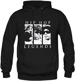 Tupac Eazy E Biggie Mens hoody Sweatshirt Black