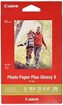 Canon Photo Paper Glossy 4 x 6 Inches PP-301 100 Sheets