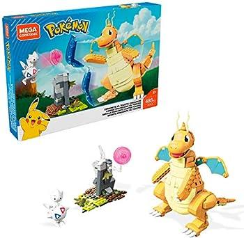 Mega Construx Pokemon Dragonite vs Togetic Challenge
