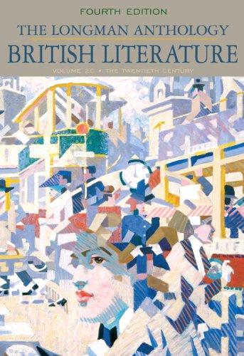 The Longman Anthology of British Literature, Volume 2C:...