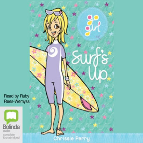 Surf's Up: Go Girl!, Book 6 audiobook cover art