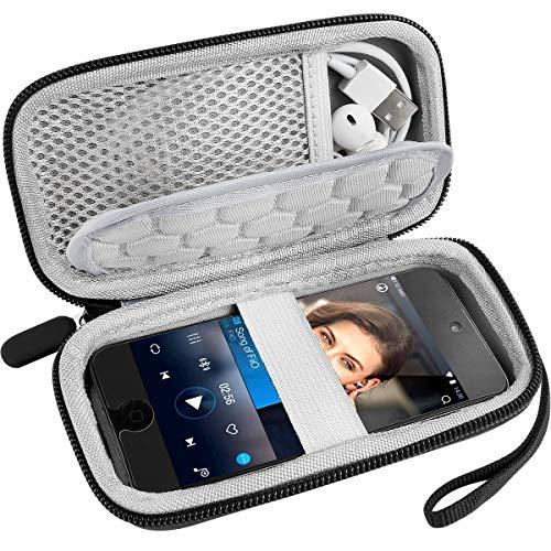 MP3-Player Tasche, Tragbare Musik Player Reise Case Hülle Kompatibel mit SuperEye/Soulcker/Victure/iPod Touch/Nano/Shuffle/AGPTEK/Aigital/Hotechs/BENJIE MP3 Player