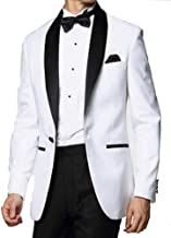 Michael Craig White and Black Skyfall Tuxedo Jacket