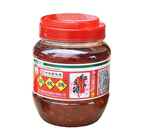 Sichuan Pixian Boad Bean Paste with Red Chili Oil - 17.6 oz (500g) | Hong You Dou Ban