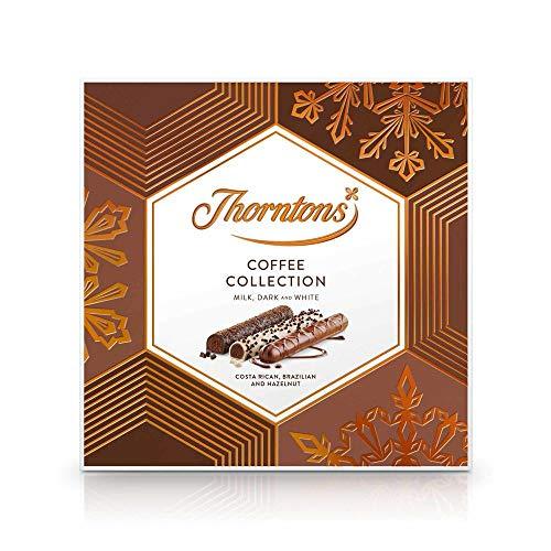 Scatole regalo di Natale al cioccolato Thorntons (collezione caffè 139g)