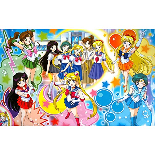 QINGQING 1000 Teile Puzzle Sailor Moon Uniform Kampfanzug Puzzles Spielzeug (Size : 300)