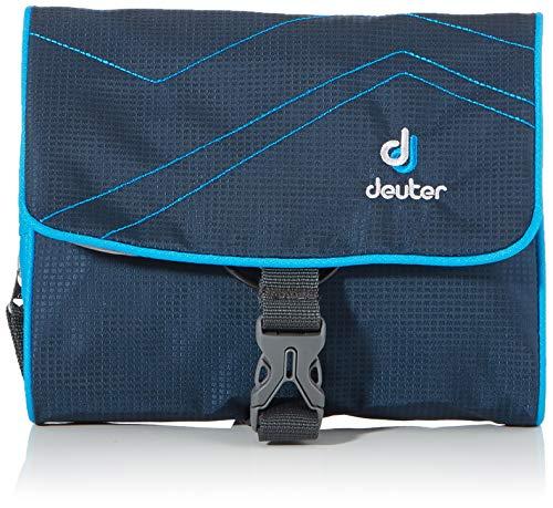 Deuter Kulturtasche Wash Bag I Accessories, Midnight-Turquoise, 16 x 19 x 3 cm