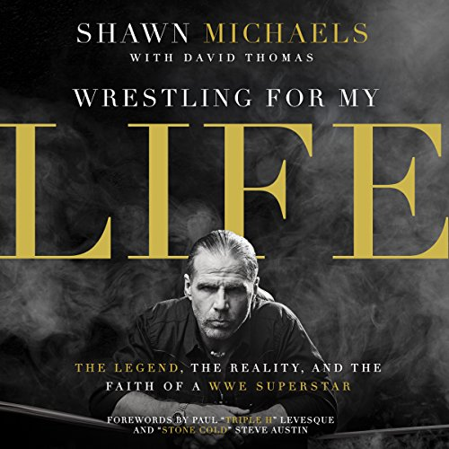 Wrestling for My Life audiobook cover art