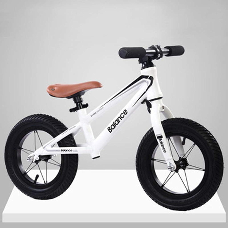 bienvenido a comprar CHAOYUE Ultraligero Paso Deslizante aleación de Aluminio sin sin sin Pedal Bicicleta Niño Equilibrio Coche 2-3-6 años de Edad Niños yo Coche (Color   blanco)  deportes calientes