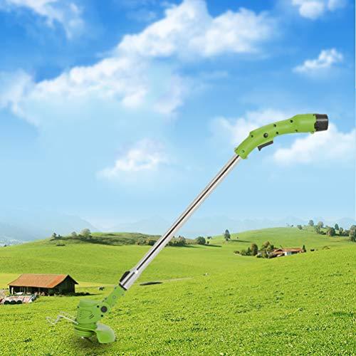 Multifunctionele elektrische grasmaaier, kleine oplaadbare grasmaaier, huishoudelijke draagbare grasmaaier, lithium grasmaaimachine,One charge and one charge