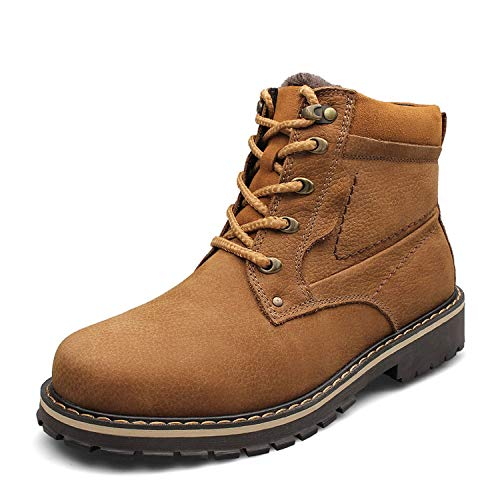 Winter Snow Anke Shoes for Men Genuine Leather