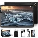 Tablet 10 Pulgadas 1920 * 1200 Resolución 5G WiFi 4G LTE Doble SIM, YESTEL Android 10 Tableta con Procesador Octa-Core, 64 GB Ampliables hasta 128 GB, Face ID/GPS/OTG/Bluetooth-Negra