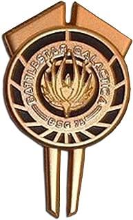Battlestar Galactica Commander Gold Dress Uniform Pin