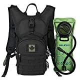 Gelindo Military Tactical Hydration Backpack with 2L Water Bladder Light Weight, MOLLE Tactical