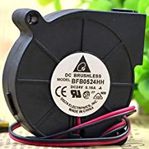 for Delta BFB0524HH 0.16A 24V 5CM Turbo Cooling Fan