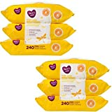 Parent's Choice Fresh Scent Baby Wipes, 3 packs of 80 (240 count) (Pack of 6)