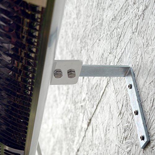 Gardigo Edelstahl Infrarot Heizstrahler | Goldröhre – weniger Stromverbrauch | Wärmt gezielt Menschen | Infrarotstrahler | 4-Stufen | Außenbereich - 4