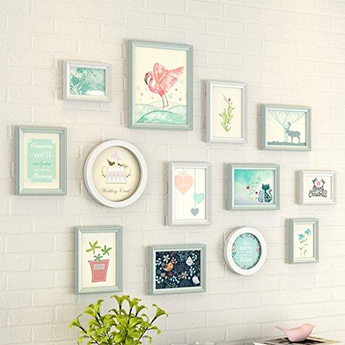 GAO JI FENG - PW Chambre de fille créative de Chambre d'enfants, mur de combinaison de mur, mur de photo moderne, mur de cadre de photo de style européen