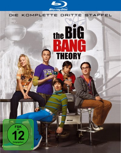 Cover The Big Bang Theory - Die komplette dritte Staffel [Blu-ray]