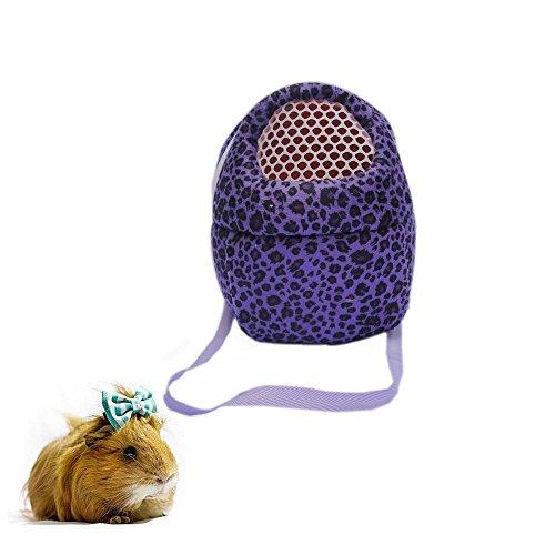 Tragetasche für kleine Tiere, tragbare Reisetasche, atmungsaktiv, Handtaschen-Rucksack für Hamster, Igel, Kaninchen, Zuckergleiter, Eichhörnchen, Meerschweinchen
