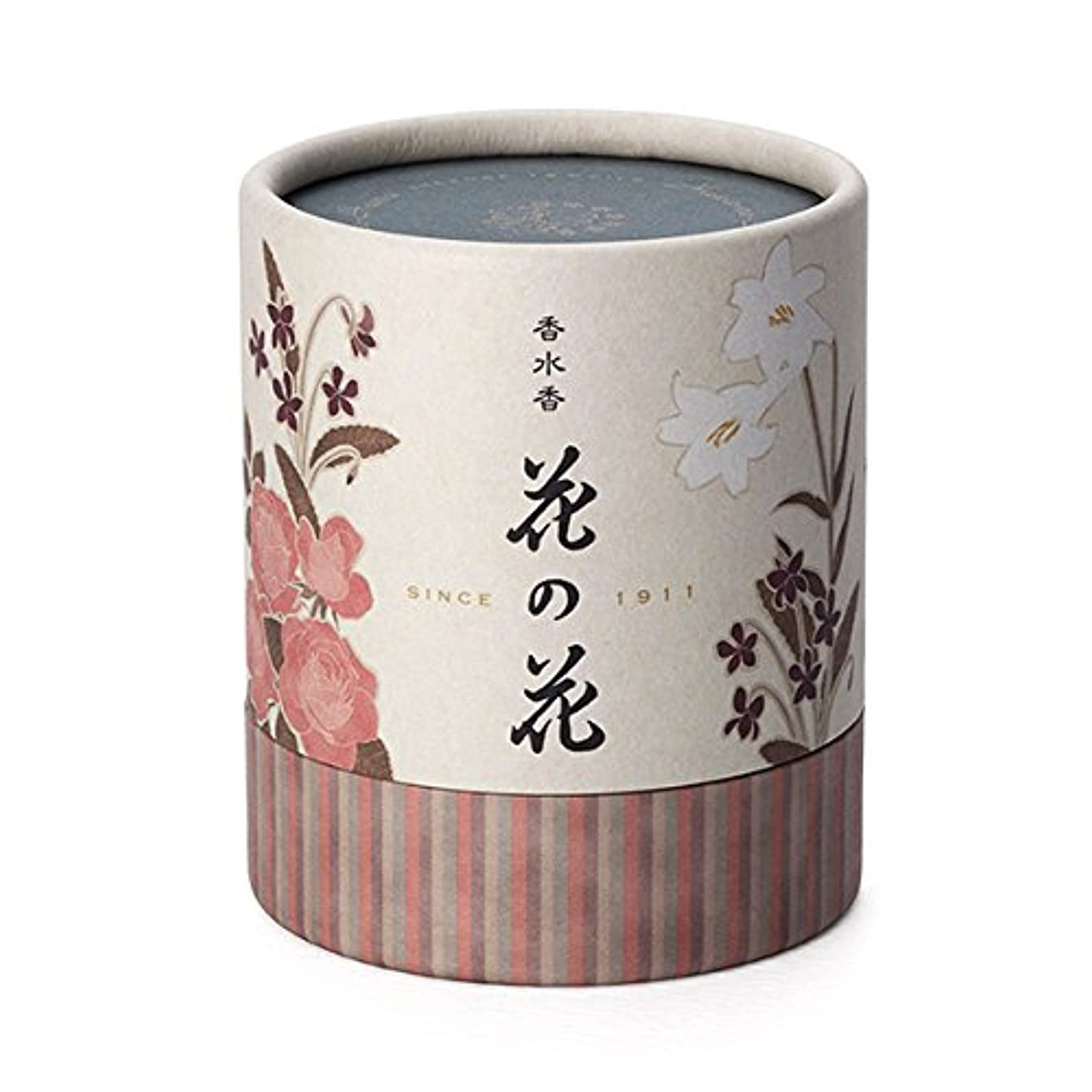 露出度の高い暫定穴日本香堂 香水香 花の花 3種入 うず巻12巻入 香立付( 30003)