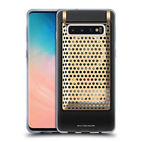 Head Case Designs Officially Licensed Star Trek Communicator Closed Gadgets Soft Gel Case Compatible with Samsung Galaxy S10