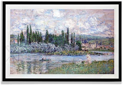 Monet Wall Art Collection View of Vetheuil 1880 1 by Claude Monet Fine Giclee Prints Wall Art product image