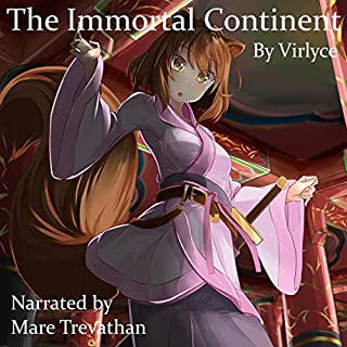 The Immortal Continent  audiobook cover art