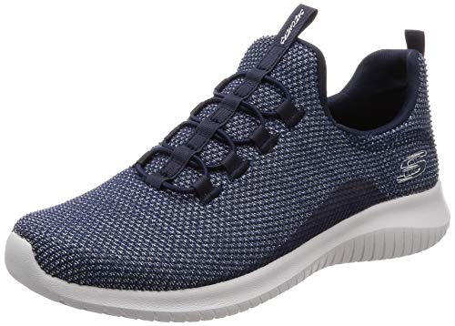 Skechers Women's ULTRA FLEX CAPSULE Trainers, Blue (Navy NVY), 4 UK 37 EU