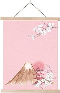 Estilo japonés y Tela de Viento Pintura de Madera Maciza Restaurante B&B casa Dormitorio Sala de Estar decoración Pintura ...