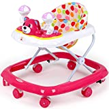 Best Baby Walkers - Hello-5ive Baby Walker, Folding Toddler Walker with Light Review