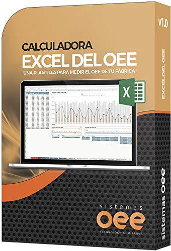 EXCEL OEE Taschenrechner | Dateiversand per Email | Kompatibel mit Excel 2010+