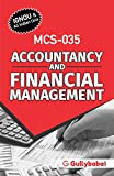 Gullybaba IGNOU 3rd Semester MA (Latest Edition) MCS-035 Accountancy and Financial Management IGNOU Help Book with Solved Previous Years' Question Papers and Important Exam Notes