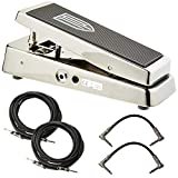 Dunlop JP95 The John Petrucci Signature Cry Baby Wah Pedal w/ 4 Cables