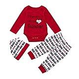 Honestyi BabyBekleidung Bekleidungssets Mädchen Baby Kleinkind Kinder Herz Brief Drucken Outfits...