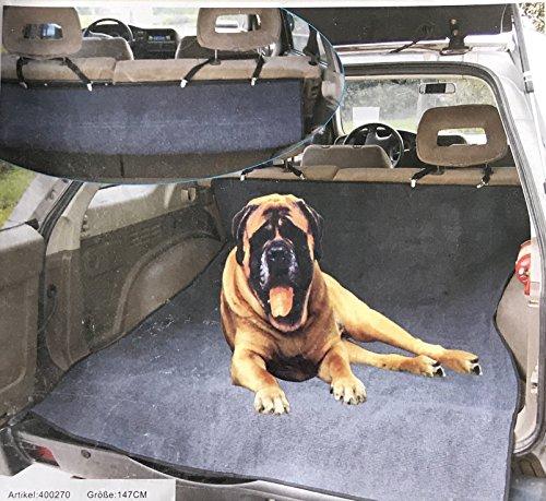 Lüllmann Hundedecke für Auto Kofferraumschutz Sitzschutz Hunde Autoschondecke Auto Hundedecke 400270