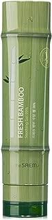 [the SAEM] Fresh Bamboo Soothing Gel 99% 8.79 fl. oz. (260ml) - Moisturizing & Soothing Gel for Face & Body & Hair, Skin Cooling & Calming