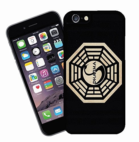 Dharma Logo from the TV show Lost - This cover will fit Apple model iPhone 7 (not 7 plus) - By Eclipse Gift Ideas