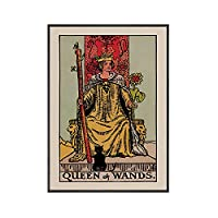 恋人 タロット 壁 アートパネル 魔術師 カード ポスター Poster 占い 写真 太陽 皇后両陛下 抽象 ヌード キャンバスアート 絵画インテリア リビング 部屋 壁飾り 40x60cm フレームなし