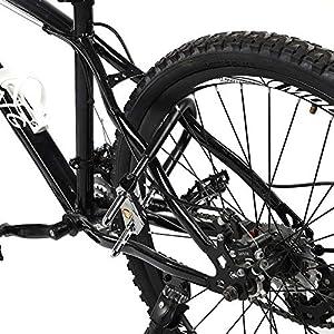 Candado de Bicicleta U, Cerraduras de Seguridad de Bicicleta Antirrobo U Lock Cerraduras en Forma de U Bloqueo de Bicicleta de Puerta de Vidrio de Servicio Pesado