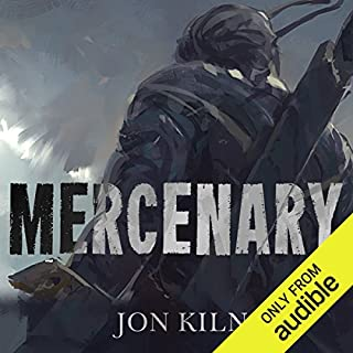 Mercenary audiobook cover art