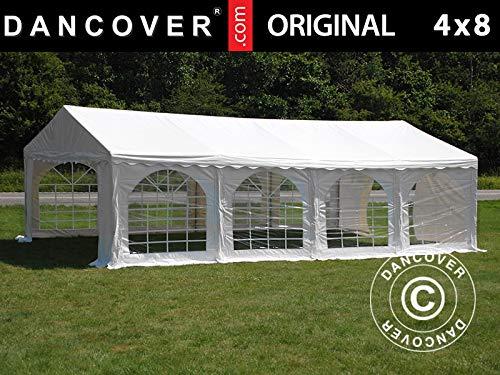 Dancover Partytent Original 4x8m PVC, Wit